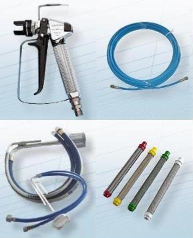 accessori in dotazione pompa airless