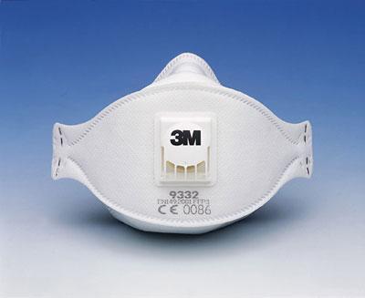 semimaschera ffp3 3m 9332
