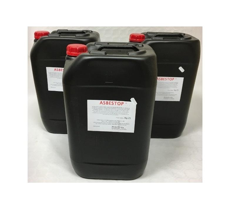 AsbeSTOP Tipo D Concentrato - Incapsulante per la rimozione di Cemento Amianto