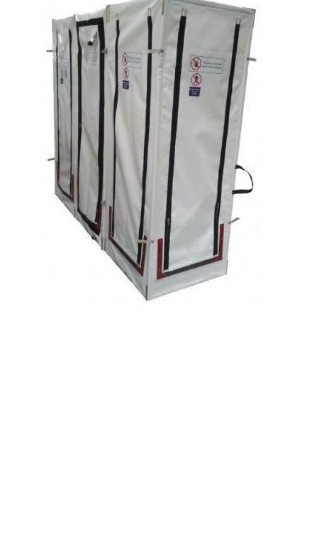 Deco Doccia PVC Pieghevole - Unità di decontaminazione