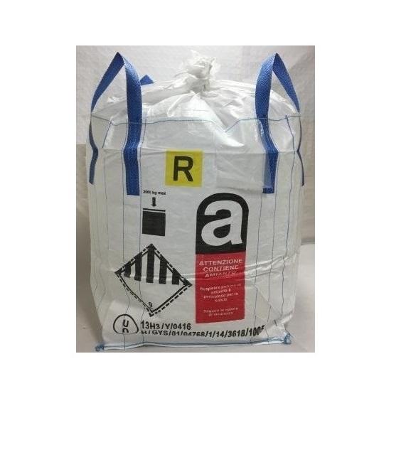 Big Bag Omologato UN 13H3/Y Stampa Amianto+R+ADR9